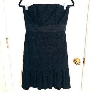 White House Black Market Strapless Lace Dress 6